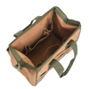 Close Top Wide Mouth Storage Tool Bag