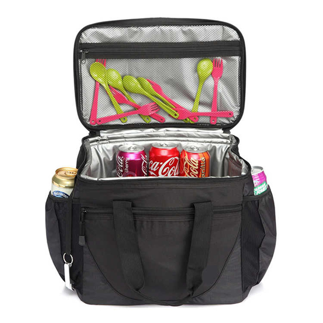 30-Can 23L Insulated Waterproof Picnic Lunch Cooler Bag