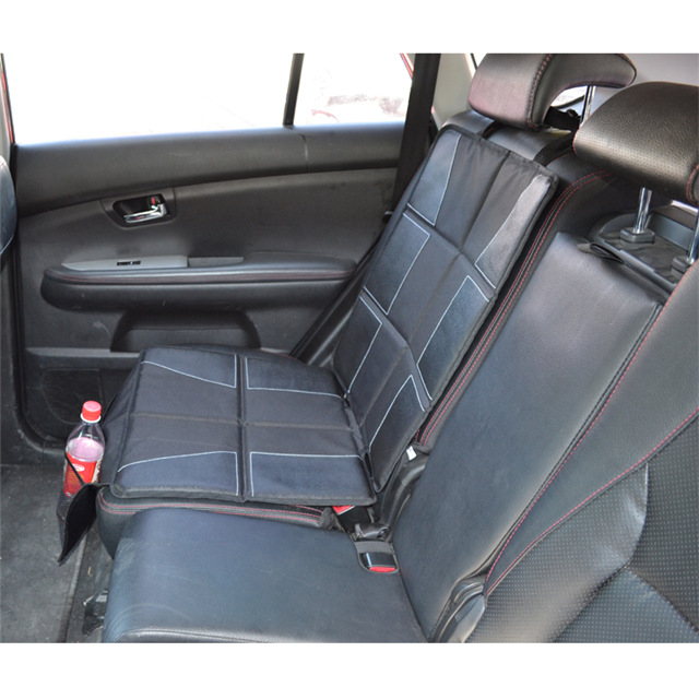 Car Seat/Booster Seat Protector Cover with Storage Organizer Pockets for Child, Infant and Baby