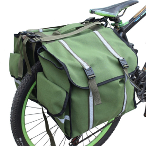 Water-Resistant Bicycle Carrier Rack Pannier Bag