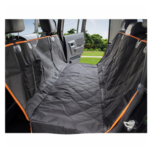Black Car Backseat Cover Dog Travel Hammock Pet Seat Protector Pet Seat Cover