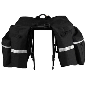 Waterproof Cycling Traveling Bicycle Rear Rack Saddle Pannier Bag