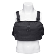 Tactical Chest Rig Bag Molle Vest Pouch with Suspenders And Front Pouch