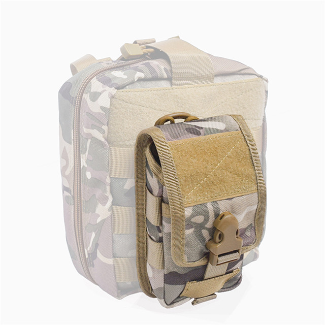 Outdoor Tactical Holster Military Molle Hip Waist Belt Bag