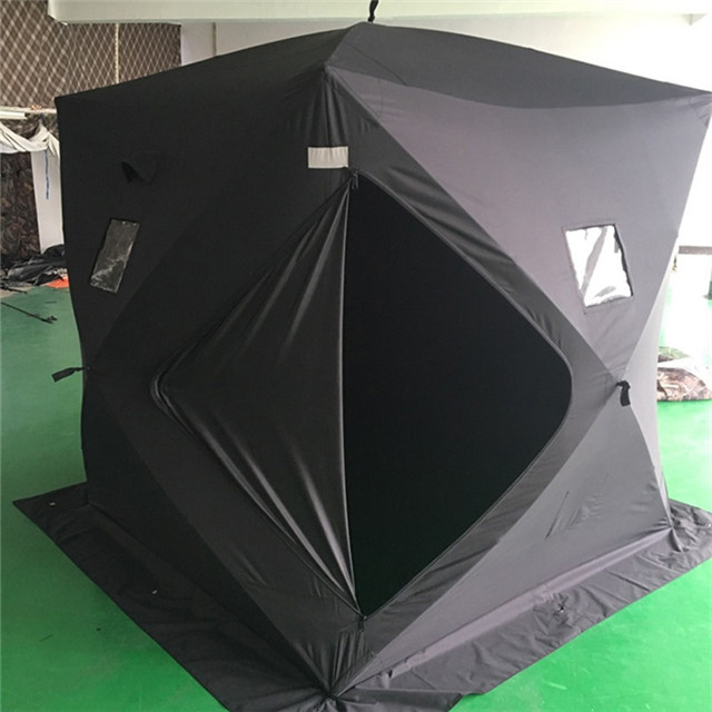 Camping Equipment Pop Up Quick Ice Cube Winter Fishing Tent