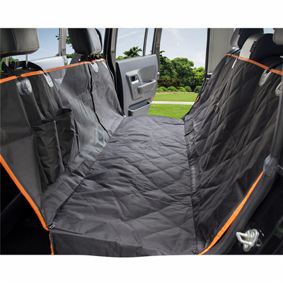 Quilted Waterproof Pet Dog Car Seat Cover with Mesh Window 5.01 Reviews