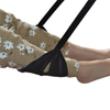 Portable Travel Carry-on Footrest Hammock Airplane Footrest