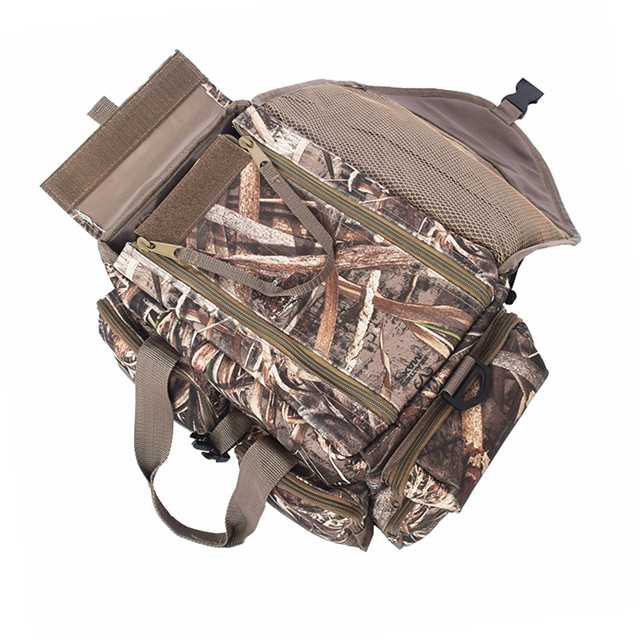 Hunting Duffle Blind Bag With Durable Camo Fabric
