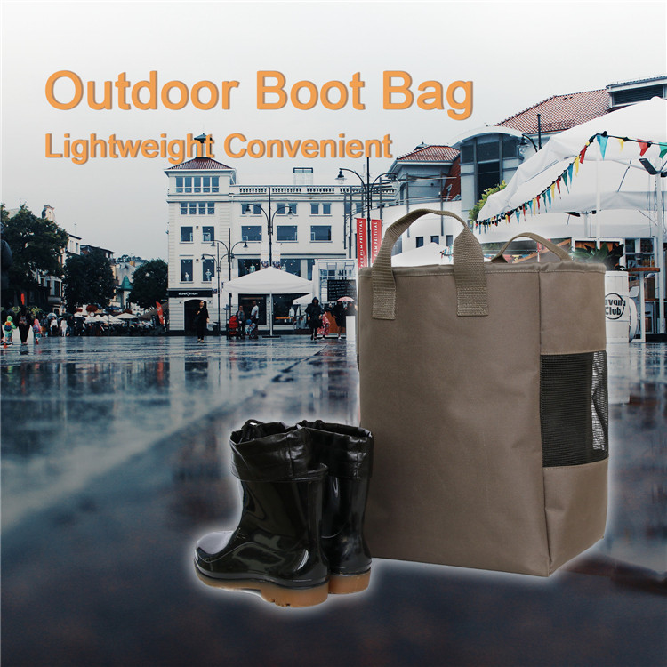 Outdoor Breathable Sports Fishing Dustproof Rain Boots Storage Bag for Hunting
