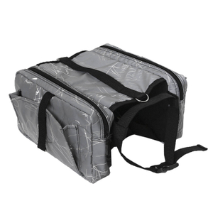 Highly Reflective Outdoor Lightweight Portable Safety Dog Pack Hound Travel Camping Hiking Backpack Saddle Bag