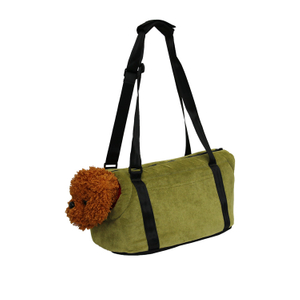 Portable Outdoor Travel Hiking Warm Cat Carrier Shoulder Tote Bag for Winter