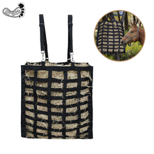 New Design Wholesale Custom Easy-Feed Heavy Duty Horse Hay Bag Lightweight Hay Bale Net Bag with 3 Colors