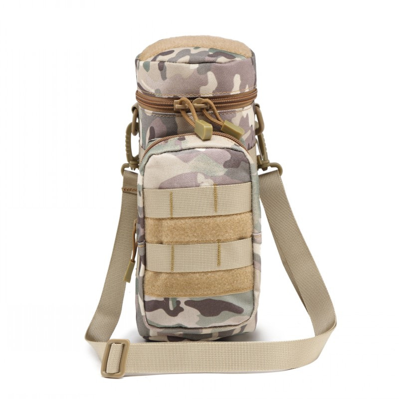 Light Weight Outdoor Tactical Water Bottle Bag with Shoulder Strap