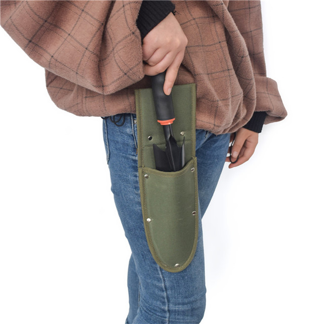 Durable Polyester Garden Waist Shovel Tool Bag
