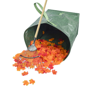 Reusable Yard Waste Gag for Collecting Leaves