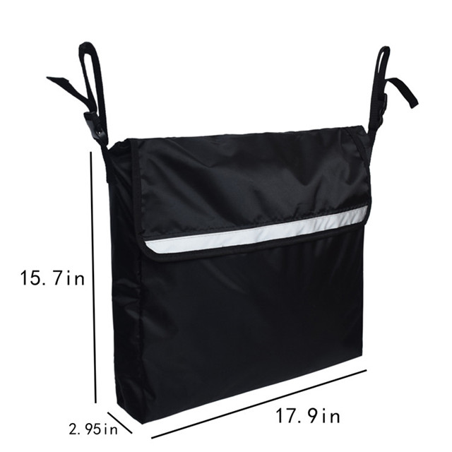 Durable Water Resistant Wheelchair Walker Bag for Travel