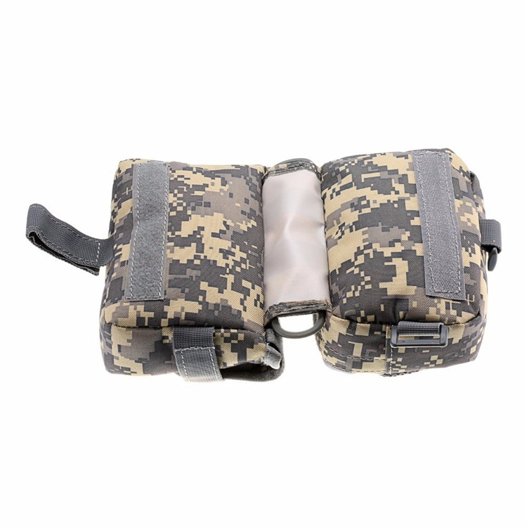 1000D Oxford Waterproof Multifunction Bicycle Front Tube Frame Bag
