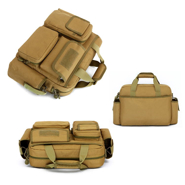 Waterproof Military Tactical Nylon Long Handle Single Shoulder Bag