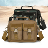 Durable Waterproof Large Unisex Laptop Tactical Messenger Bag with Hand Sling