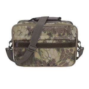 Durable Camo Fishing Reel Tackle Bag with Mesh Pockets For All Type Fishing Reels, Fly Fishing