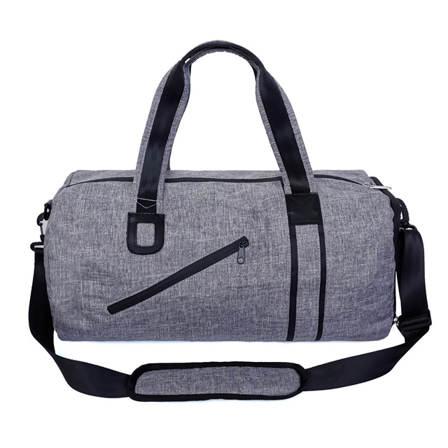 Unisex Large Capacity Gym Travel Weekender Duffel Bag with Shoe Compartment