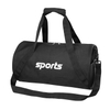 Outdoor Fitness Round Sports Travel Bag with Shoe Carry Bag