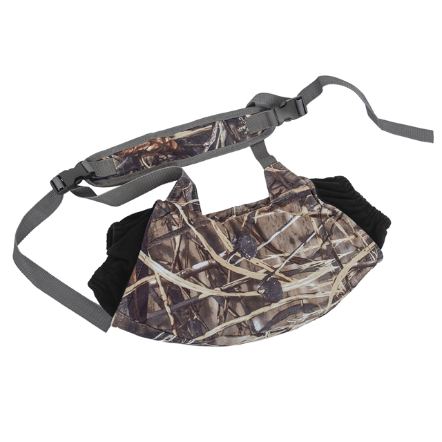 Mens Camo Hand Warmer Muff Outdoor Hunting